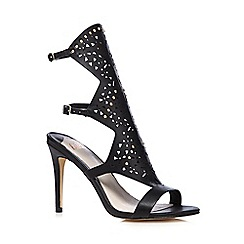 Faith - Black 'Lopez' studded high sandals