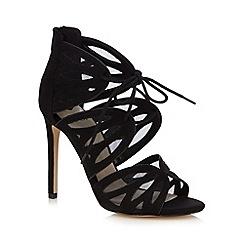 Faith - Black 'Lana' high sandals