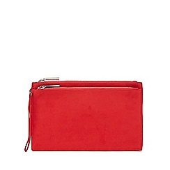 Faith - Red 'P-Cadles' clutch bag