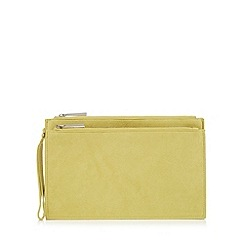 Faith - Lime 'P-Cadles' clutch bag