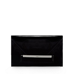 Faith - Black 'P-Lenny' clutch bag