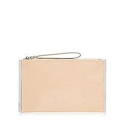 Faith - Light pink patent clutch bag