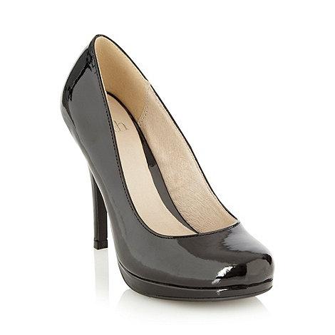 Faith - Black patent court shoes