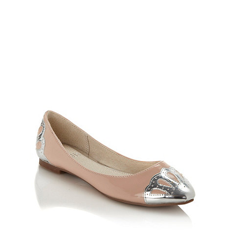 Faith - Natural metallic front pumps