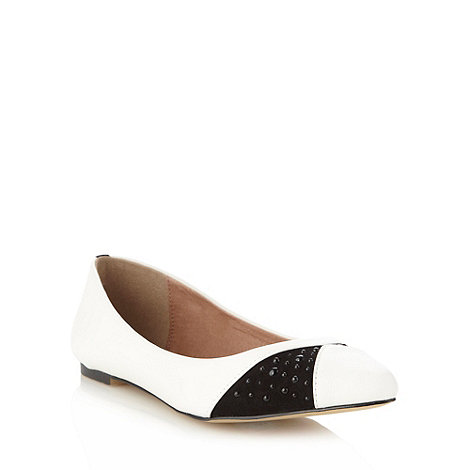 Faith - White domed spot pumps
