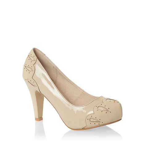 Faith - Nude court shoes
