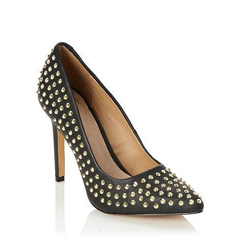 Faith - Black studded high court shoes