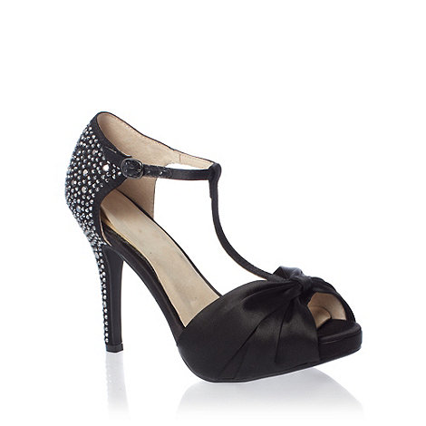 Faith - Black heeled sandals