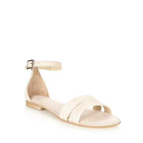Faith - Beige multi strap sandals