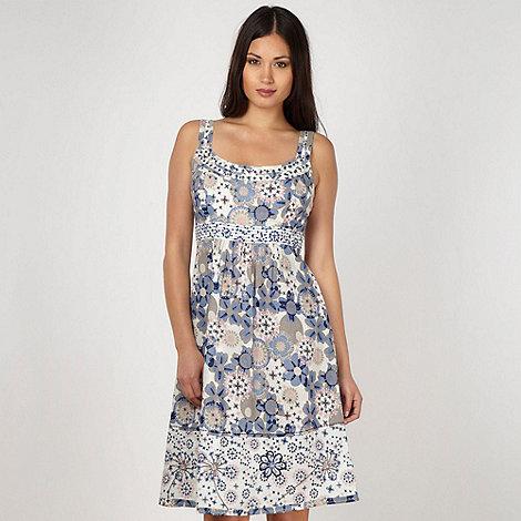 Mantaray - Blue floral mix and match dress