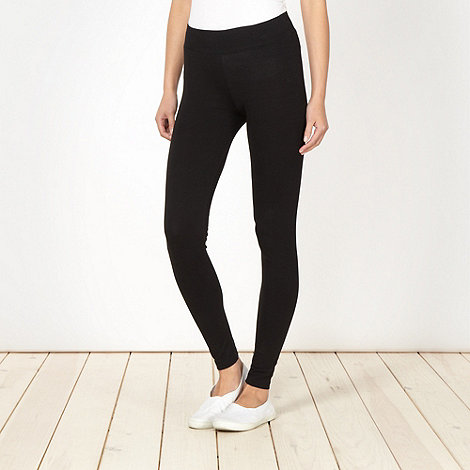 Mantaray - Black essential leggings