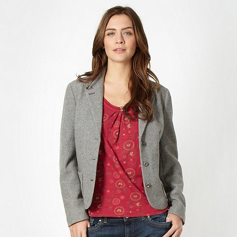 Mantaray - Grey wool blend blazer