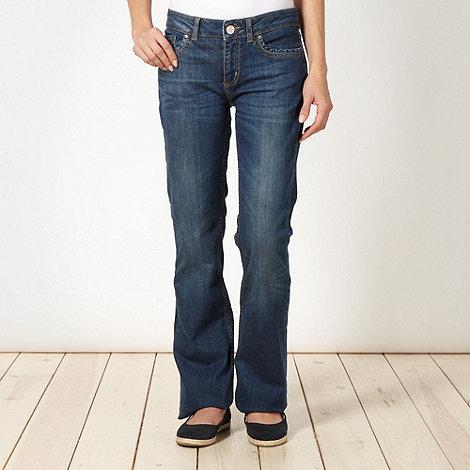 Mantaray - Dark blue bootcut jeans