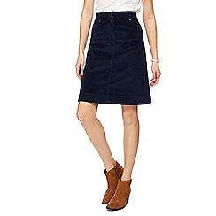 Mantaray - Navy cord skirt