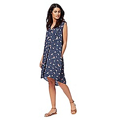 Mantaray - Navy watermelon print dress