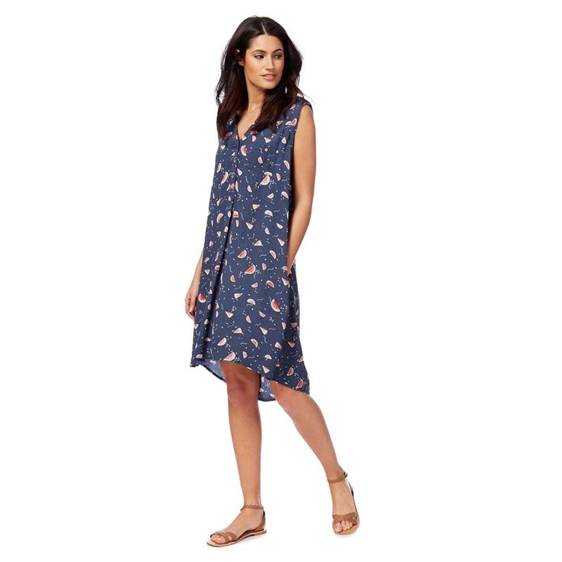 d64c6f0698 Mantaray - Navy Watermelon Print Dress   £4.00   Grazia