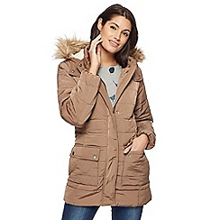 Mantaray - Taupe quilted jacket