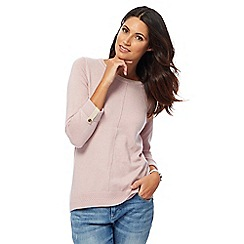 Mantaray - Rose longline jumper