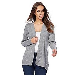 Mantaray - Grey longline cardigan