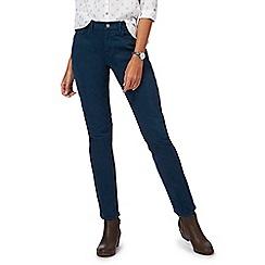 Mantaray - Turquoise 'Brighton' cargo skinny jeans