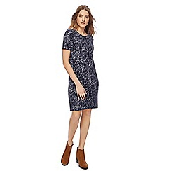 Mantaray - Navy mini tunic dress