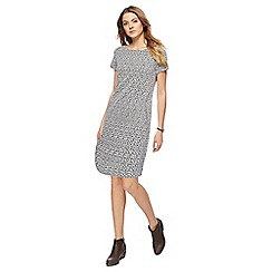 Mantaray - Grey mini tunic dress