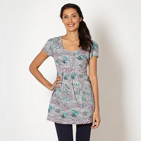 Mantaray - Grey allotment tunic top