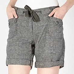 Mantaray - Khaki crosshatch shorts