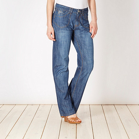 Mantaray - Blue bootcut jeans