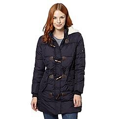 Mantaray - Navy duffle padded jacket