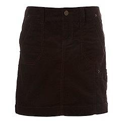 Mantaray - Chocolate cord skirt