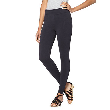 Mantaray - Navy jersey leggings