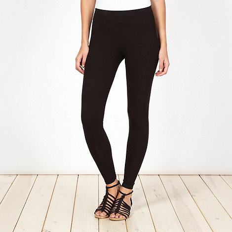 Mantaray - Black jersey leggings