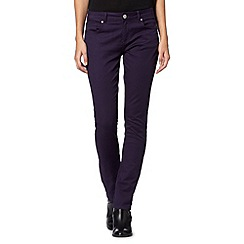 Mantaray - Grape skinny jeans