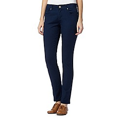 Mantaray - Navy plain skinny jeans