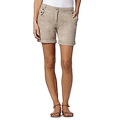 Mantaray - Natural crosshatch shorts
