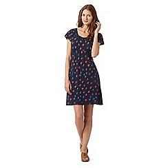 Mantaray - Navy apple print dress