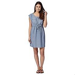 Mantaray - Light blue chambray dress