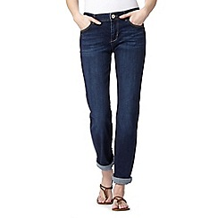Mantaray - Dark blue boyfriend jeans
