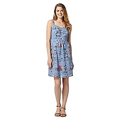 Mantaray - Mantaray MCS Beach Scene Sun Dress