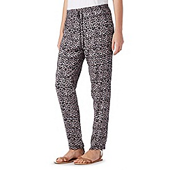 Mantaray - Black spotted trousers