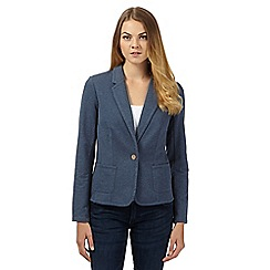 Mantaray - Blue jersey blazer