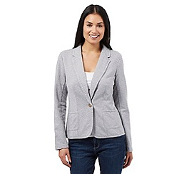 Mantaray - Grey jersey blazer