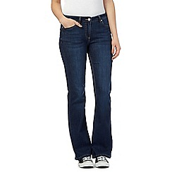 Mantaray - Dark blue bootcut jeans