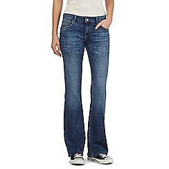 Mantaray - Mid wash bootcut jeans