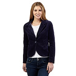 Mantaray - Dark blue corduroy blazer