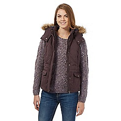 Mantaray - Purple padded gilet