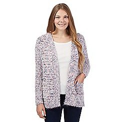 Mantaray - Pink eyelash cardigan
