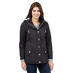 Mantaray - Dark grey parka jacket