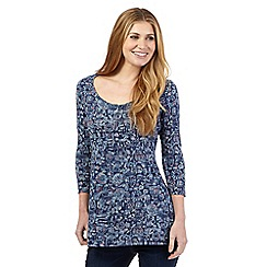 Mantaray - Navy baking print tunic
